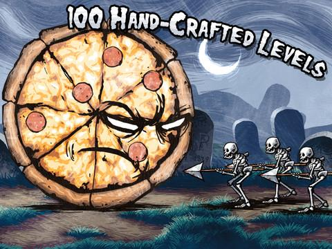 pizza vs skeletons